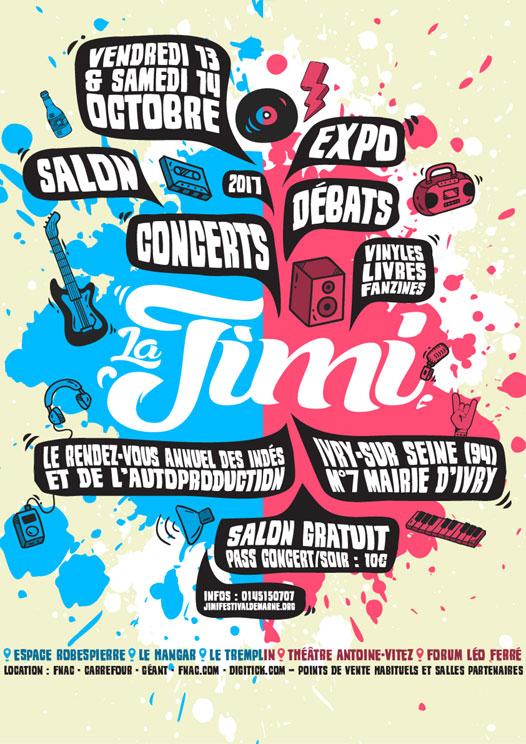 LA JIMI - FESTIVAL DE MARNE 2017 11eme édition