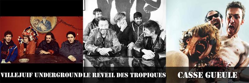 Concerts 12/10 au Théâtre Antoine Vitez d'Ivry